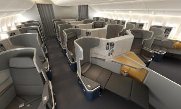 choose an airplane seat