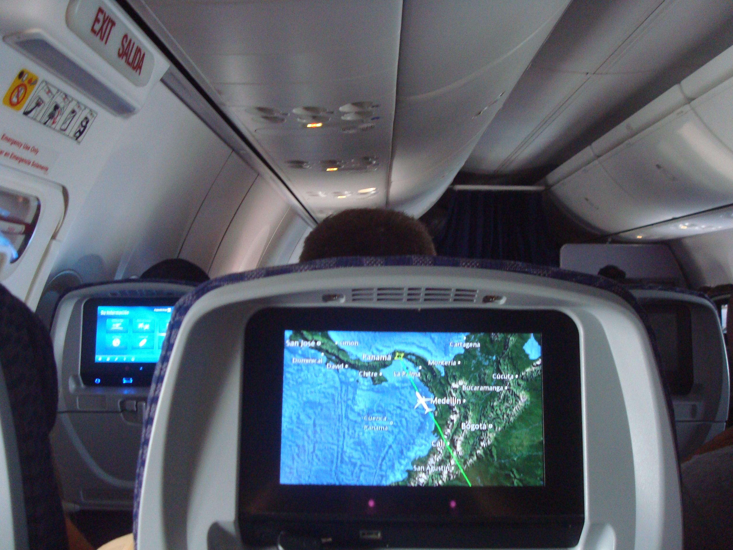 Mapa De Asientos Copa Airlines Boeing B737 800a Plano